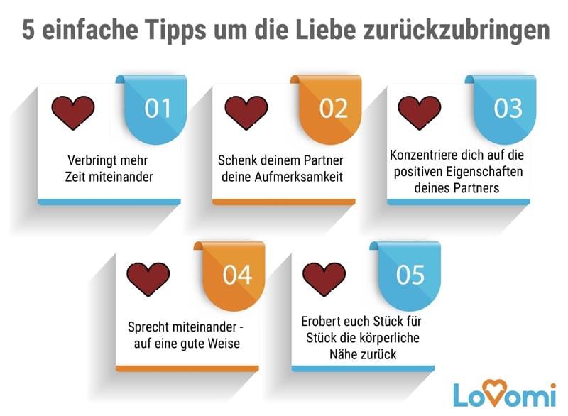 Wenn die Liebe geht helfen diese 5 Tipps um sie zurückzubringen