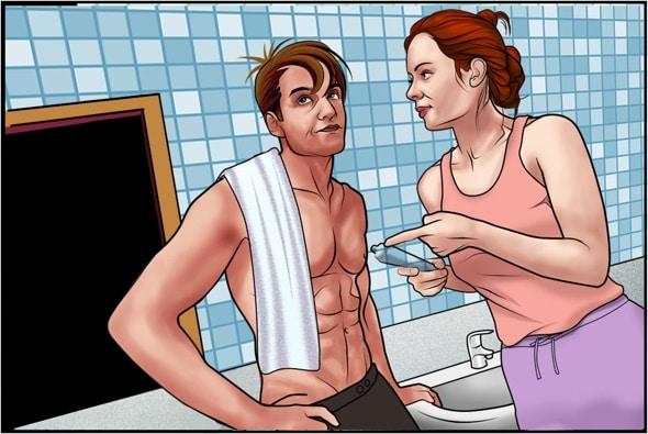 Trennung trotz Liebe: Paar streitet sich wegen der Zahnpasta
