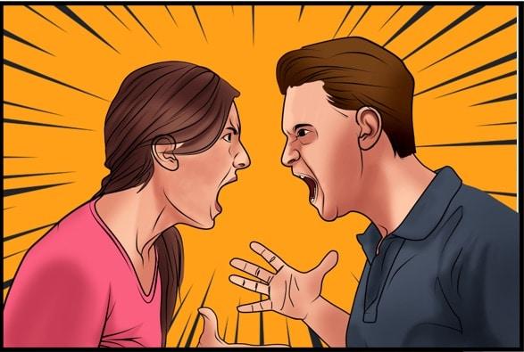 Trennung trotz Liebe - Paar streitet sich weil jeder Recht haben will